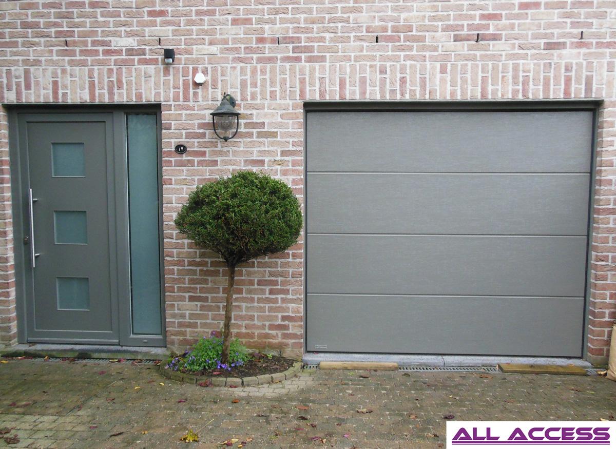 Porte de garage r sidentielle all access for Ouvrir une porte de garage basculante