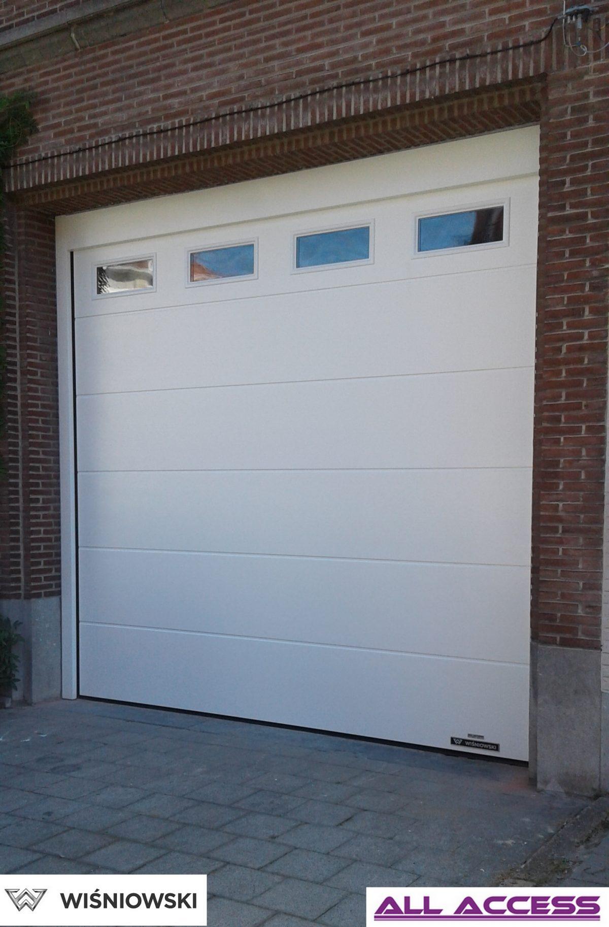 S lecteur de porte de garage r sidentielle all access for Prix porte de garage wisniowski
