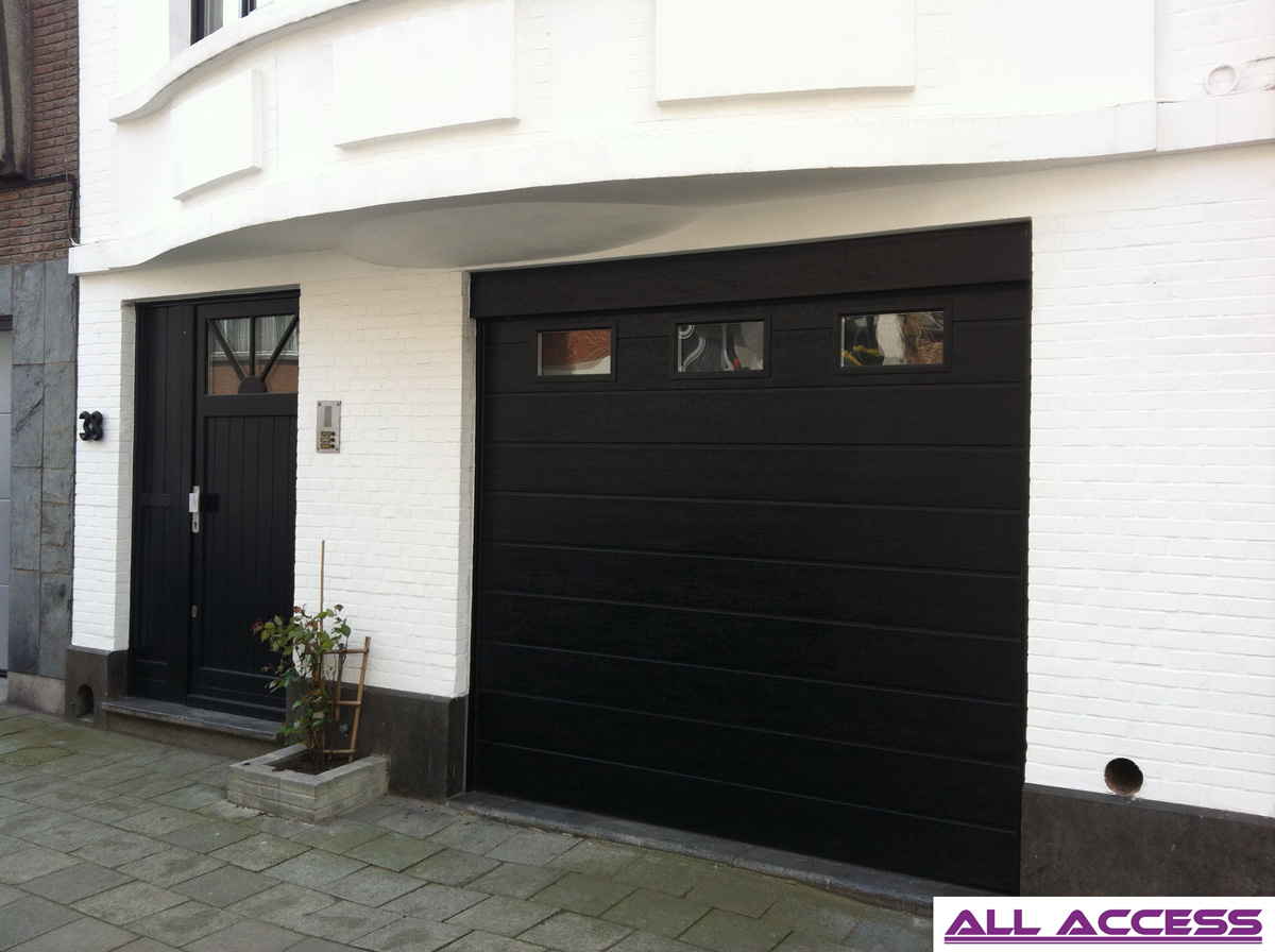 S lecteur de porte de garage r sidentielle all access - Porte de garage sectionnelle novoferm ...