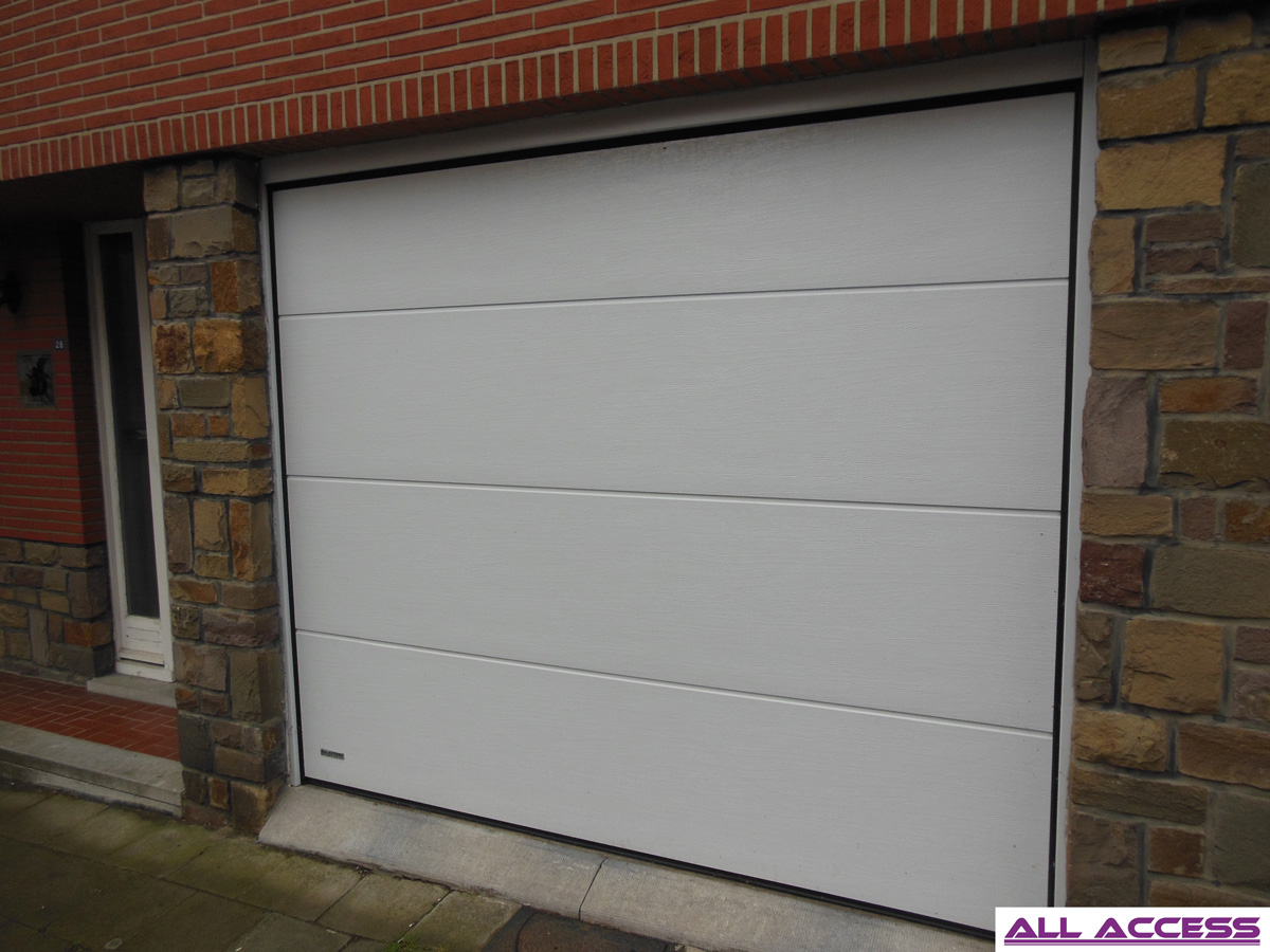 S lecteur de porte de garage r sidentielle all access for Difference porte de garage debordante et non debordante
