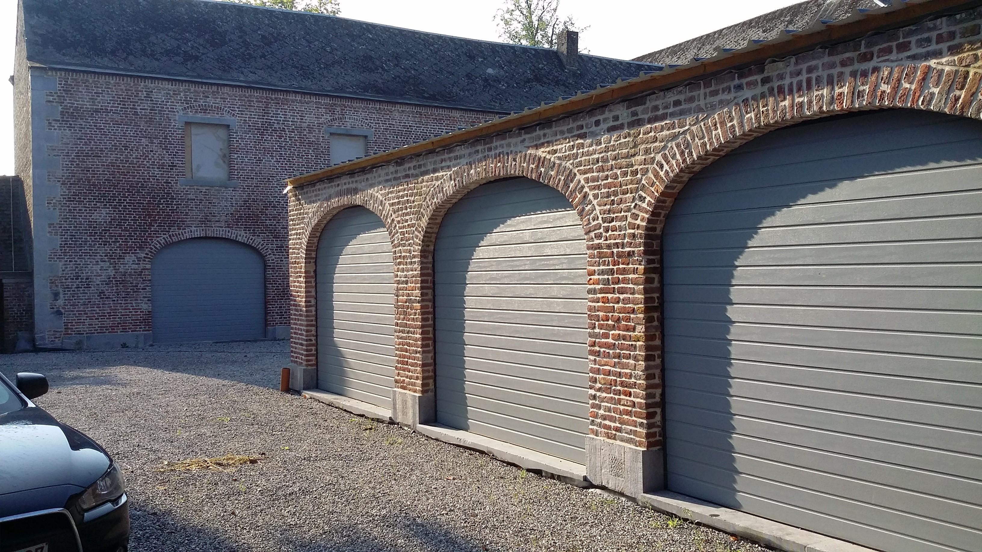 Porte de garage sectionnelle all access - Porte de garage sectionnelle woodgrain ...